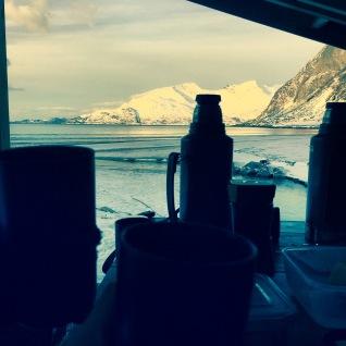 Aurora Boreale in Norvegia - FIORDO
